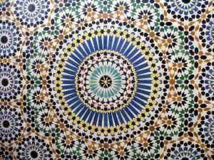 Star Radial Mosaic